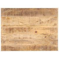 vidaXL Mizna plošča iz trdnega mangovega lesa 25-27 mm 80x70 cm