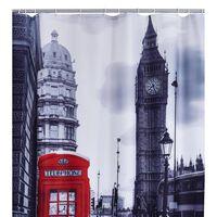 RIDDER Zavesa za tuš London 180x200 cm