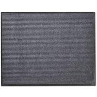 PVC Predpražnik Sive Barve 90 x 120 cm