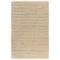 vidaXL Ročno pletena preproga iz jute 120x180 cm naravna in bela