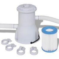 Filter črpalka za bazen 530 gal / h (2000 L / h)