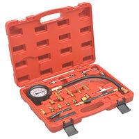 vidaXL Komplet za testiranje tlaka za vbrizg goriva