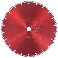 vidaXL Diamantni rezalni disk s turbo jeklom 300 mm