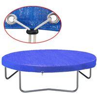 vidaXL Pokrivalo za trampolin PE 360-367 cm 90 g/m²