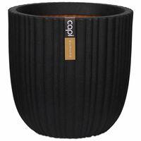 Capi Cvetlično korito Urban Tube 43x41 cm črno