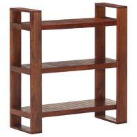 vidaXL Knjižna omara medeno rjava 84x30x90 cm trden akacijev les