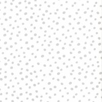 Fabulous World Tapeta Dots bela in siva