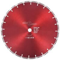 vidaXL Diamantni rezalni disk s turbo jeklom 350 mm