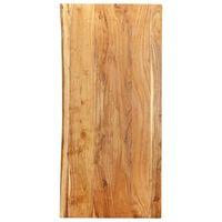vidaXL Površina za kopalniško toaletno mizo trdna akacija 120x55x2,5cm
