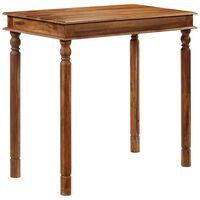 vidaXL Barska miza iz trdnega palisandra 120x60x107 cm