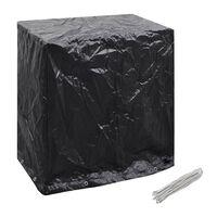 vidaXL Pokrivalo za pohištvo / namizni tenis 8 obročkov 160x55x182 cm