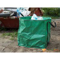 Nature Vrtna vreča za odpadke kvadratna zelena 148 L