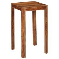 vidaXL Barska miza iz trdnega palisandra 60x60x107 cm