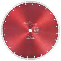 vidaXL Diamantni rezalni disk iz jekla 350 mm