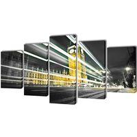 Set platen s printom Big Ben London 100 x 50 cm