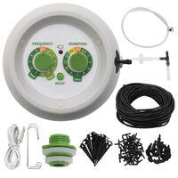 vidaXL Avtomatski komplet za kapljično zalivanje z upravljalnikom