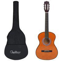 """vidaXL Klasična kitara za začetnike s torbo 3/4 36"""""""