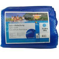 Summer Fun Solarno pokrivalo za bazen okroglo 350 cm PE modro