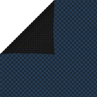 vidaXL Plavajoča PE solarna folija za bazen 300x200 cm črna in modra