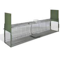 vidaXL Živolovka z 2 vrati 150 x 30 x 30 cm