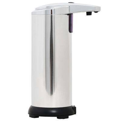 vidaXL Avtomatski dozirnik mila 2 kosa z infrardečim senzorjem 600 ml
