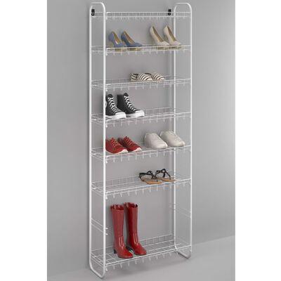 Metaltex 8-nadstropno stojalo za čevlje Shoe 8 belo