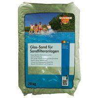Summer Fun Steklen filtrirni pesek 20 kg 0,5-1,0 mm