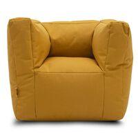 Jollein Stol / vreča za sedenje gorčično rumene barve