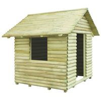 vidaXL Otroška hiška iz impregnirane borovine 167x150x151 cm