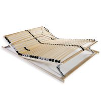 vidaXL Letveno dno za posteljo 28 letvic 7 con 140x200 cm