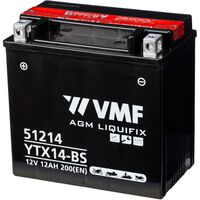 VMF Powersport Liquifix akumulator 12 V 12 Ah MF YTX14-BS