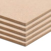 vidaXL MDF plošče kvadratne 60x60 cm 2,5 mm 10 kosov