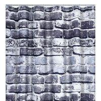 RIDDER Zavesa za tuš Wall 180x200 cm