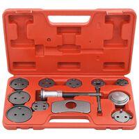 vidaXL Komplet orodja za ponastavitev zavornih batov 13-delni