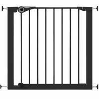Noma Varnostna vrata Easy Pressure Fit 75-82 cm kovinska črne barve