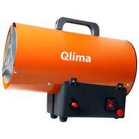 Qlima Plinski grelnik zraka GFA 1010 25 W oranžen