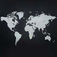 MiMi Innovations Lesen zemljevid sveta Luxury bel 130x78 cm