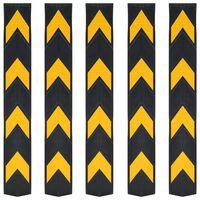 vidaXL Odsevna zaščita za robove guma 5 kosov 80 cm