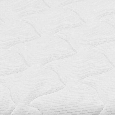 vidaXL Nadvzmetnica 120x200 cm visco spominska pena 6 cm