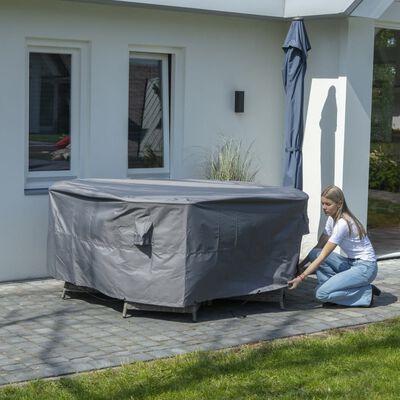 Madison Pokrivalo za zunanje pohištvo okroglo 320 cm sivo