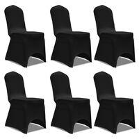 Pokrivalo za stol raztegljivo črne barve 6 kosov