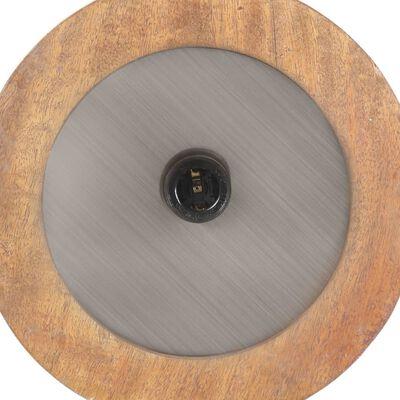 vidaXL Trinožna stoječa svetilka in trdnega mangovega lesa 186 cm